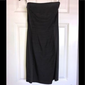 Ann Taylor Black Cocktail Dress
